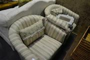 Sale 8093 - Lot 1375 - Pair of Tub Chairs