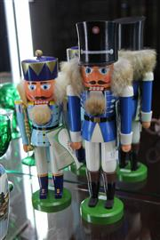 Sale 8116 - Lot 57 - Two Vintage Timber Nut Crackers