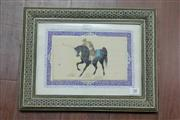 Sale 8288 - Lot 38 - Arabic Framed Miniature