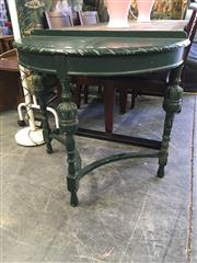 Sale 8782 - Lot 1731 - Demi Lune Hall Table