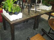 Sale 7933A - Lot 1172 - Pair Of Rustic Cafe Tables
