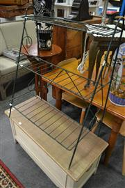 Sale 8161 - Lot 1097 - Metal Plant Stand