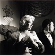 Sale 8755A - Lot 5034 - Eve Arnold (1912 - 2012) - Marilyn Monroe: East of Eden premiere, New York, 1955 33 x 33cm (mount: 72 x 54cm)