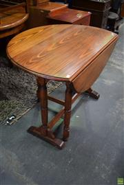 Sale 8566 - Lot 1504 - Timber Drop Side table