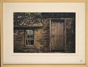 Sale 8734A - Lot 82 - Lynn Pearce - The Carpenters Workshop, Dartington Hall, 2002 50 x 63.5cm (frame size)