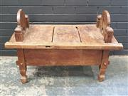 Sale 8984 - Lot 1093 - Indonesian Dowry Table with Lift Top (H:67 x W:96 x D:48cm)