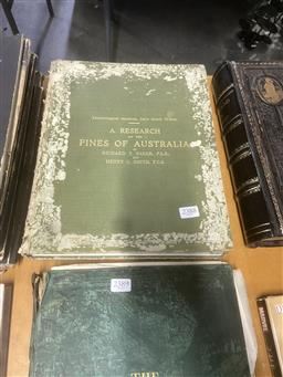 Sale 9106 - Lot 2342 - 2 Volumes by Baker, R.T. & Smith, H.G. A Research on the Eucalypts & their Essential Oils, 2nd. ed. pub. GNSW; A Research on the...