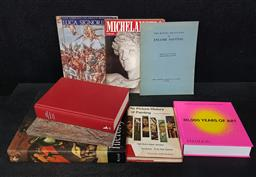 Sale 9254 - Lot 2035 - Collection of Art Books incl. De Tolnay, C. Hieronymus Bosch, Artabras Book; Graham-Dixon, A. Caravaggio; 30,000 Years of Art,...