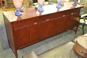 Sale 8147 - Lot 1045 - Nathan Rosewood Sideboard