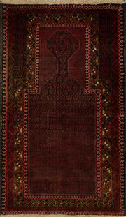 Sale 8439C - Lot 26 - Persian Baluchi 140cm x 90cm