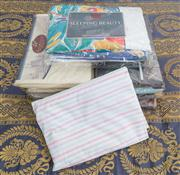 Sale 8470H - Lot 357 - A quantity of packaged sheet sets, including Martex, and 2 Moss River quilts