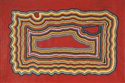 Sale 8722 - Lot 530 - David Hall (c1930 - 2000) - Untitled, 1996 90 x 60cm (stretched and ready to hang)