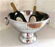 Sale 8858H - Lot 83 - Large Champagne Bowl with Ring Handles, H 27 x D 37 cm -