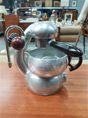 Sale 8872 - Lot 1029 - Atomic Coffee Machine with Grip, Cup & Strainer