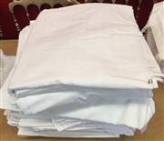 Sale 8310A - Lot 311 - A large quantity of white quality cotton bed sheets, including Sheridan and Frette (location?)