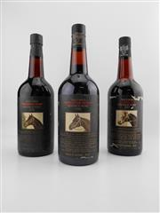 Sale 8514W - Lot 66 - 3x Yalumba Thoroughbred Series Vintage Port, Barossa Valley - 1x 1976, 1x 1977, 1x 1980