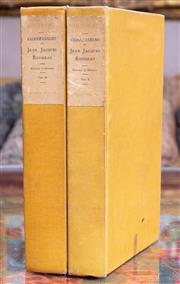 Sale 8568A - Lot 100 - The Confessions of Jean Jacques Rousseau, privately printed, 2 volumes, 1904, uncut pages