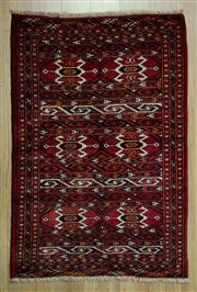 Sale 8585C - Lot 29 - Persian Turkman 146cm x 102cm