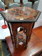 Sale 8740 - Lot 1113 - Small Inlaid Side Table