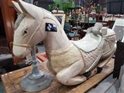 Sale 8904 - Lot 1064 - Vintage Painted Timber Rocking Horse