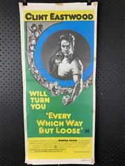 Sale 9003P - Lot 71 - Vintage Movie Poster - Every Which Way But Loose starring Clint Eastwood