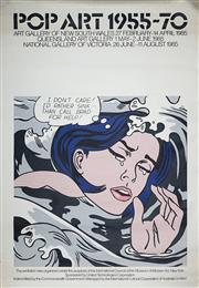 Sale 9078A - Lot 5004 - Roy Lichtenstein (1923 - 1997) - Pop Art, 1955 - 1970 (Art Gallery of NSW, 1985) 153 x 102 cm (sheet)