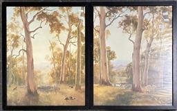 Sale 9176 - Lot 2067 - Decorative prints (2 works) Kevin best, mater and pupil , the day dreamers ed 727/ 950, ed 586/950, 55 x 44 cm each signed lower...