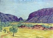 Sale 8544A - Lot 5027 - Keith Namatjira (1915 - 1968) - Central Australia 29 x 40cm