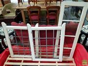 Sale 8550 - Lot 1454 - Three Varied Timber Framed Windows