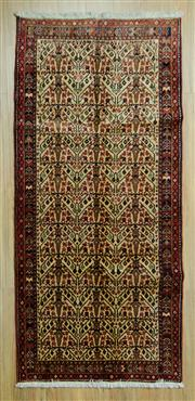 Sale 8585C - Lot 30 - Persian Moud 126cm x 103cm