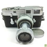 Sale 8648A - Lot 16 - Leica M3- 912 152 Camera
