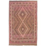 Sale 8840C - Lot 25 - An Afghan Maymana Kelim Carpet, Handspun Wool, 384 x 251cm