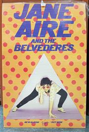 Sale 8872 - Lot 1078 - Vintage Jane Aire and the Belvederes Mounted Poster