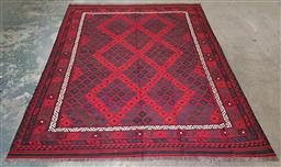Sale 9240 - Lot 1040A - Hand knotted pure wool Persian kilim (315 x 239cm)