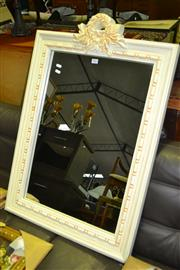 Sale 8013 - Lot 1042 - Framed Timber Mirror