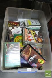 Sale 8478 - Lot 2260 - Box of Assorted CDs & VHS