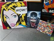 Sale 8478 - Lot 2028 - Group of (3) Original Contemporary Artworks by Various Artists (framed, various sizes, AF - 1)