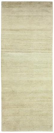 Sale 8626A - Lot 30 - A Cadrys Contemporary Hemp and Tibetan Highland Wool Carpet, Size; 229x91cm, RRP; $1550