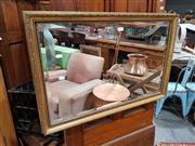 Sale 8740 - Lot 1049 - Gilt Framed Mirror