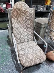 Sale 8809B - Lot 700 - Early QANTAS Aviation Airline Aluminium Seat