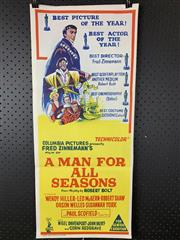 Sale 9003P - Lot 73 - Vintage Movie Poster - A Man for All Seasons