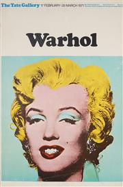Sale 9078A - Lot 5003 - Andy Warhol (1930 - 1987) - Marilyn Monroe (Poster for the Tate Gallery Exhibition), 1971 75 x 50 cm (sheet)