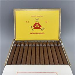 Sale 9182W - Lot 857 - Montecristo No.2 Cuban Cigars - box of 25, dated October 2020