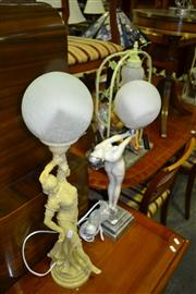 Sale 8093 - Lot 1401 - Collection of Figural Lamps