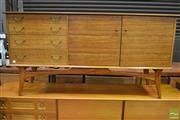 Sale 8310 - Lot 1017 - Quality 1960s Teak Sideboard