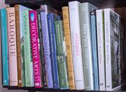Sale 8568A - Lot 103 - A shelf of books on Interiors and Decorating