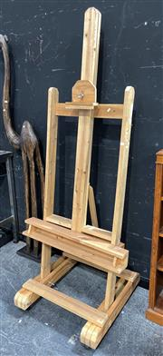 Sale 8901F - Lot 1009 - Large Timber Artists Easel
