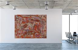 Sale 9171A - Lot 5043 - NAATA NUNGURRAYI (1932 - ) - Marrapinti 183 x 244 cm (stretched and ready to hang)