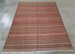 Sale 9240 - Lot 1066 - Hand knotted pure wool Persian sumak (265 x 195cm)