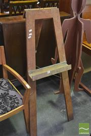 Sale 8326 - Lot 1343 - Timber Easel